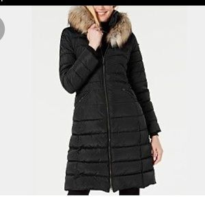 Michael Kors dawn long puffer coat